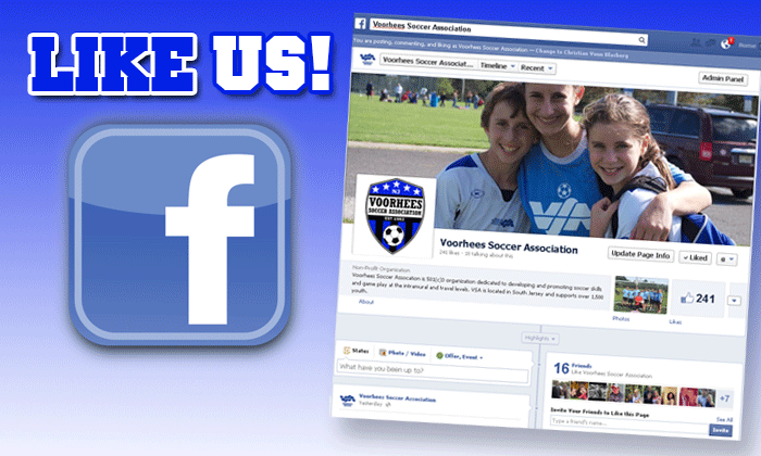 Become a Fan, Like VSA on Facebook!