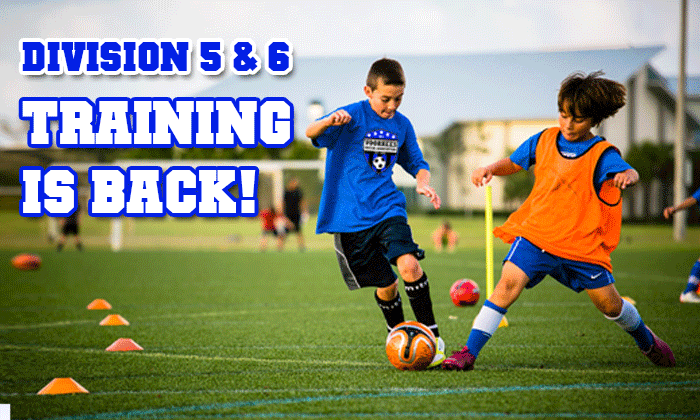 Sign Up for Division 5 & 6 Training