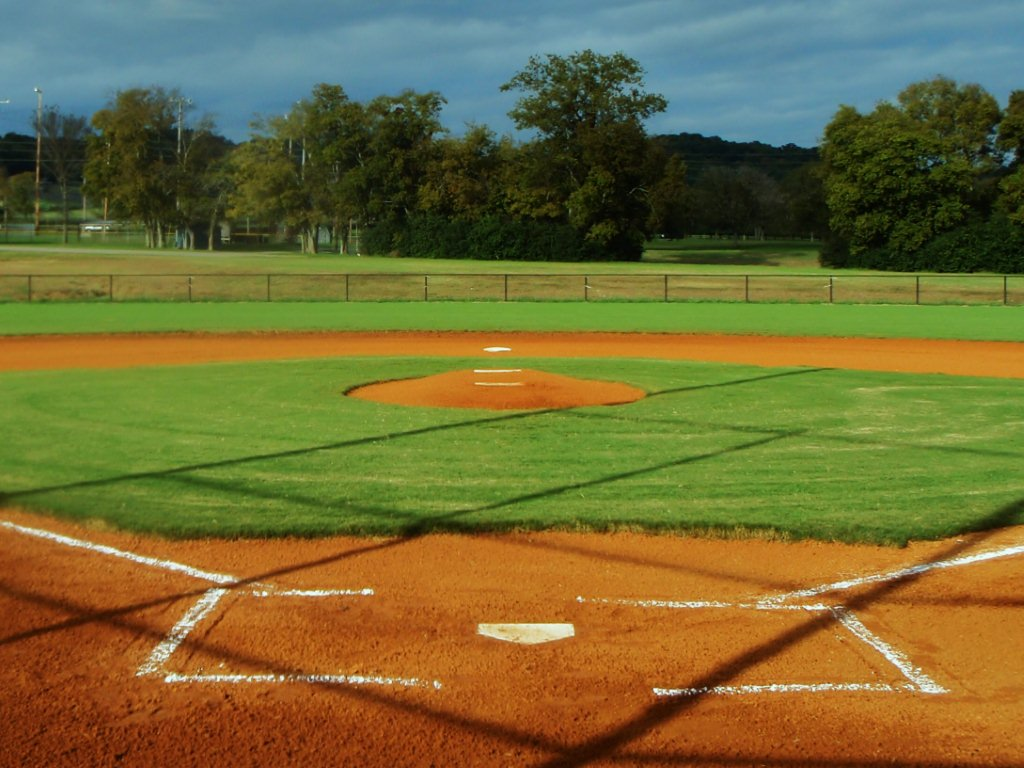 baseball field backgrounds powerpoint