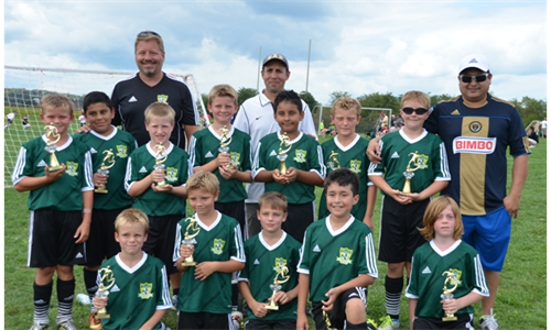 Dragons '03 (BU11) take second place at Gettysburg