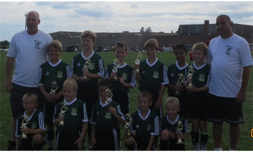 Dragons '04 (BU10) take second place at Gettysburg