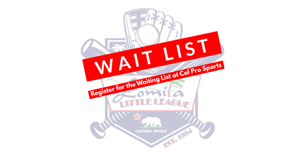 2021 Registration Closed-Sign Up for our Wait List