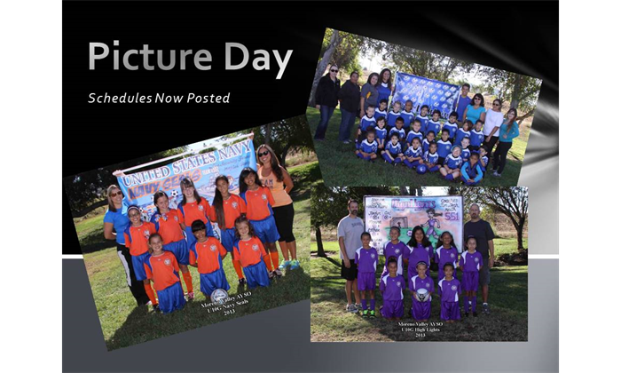 Pcture Day Schedules