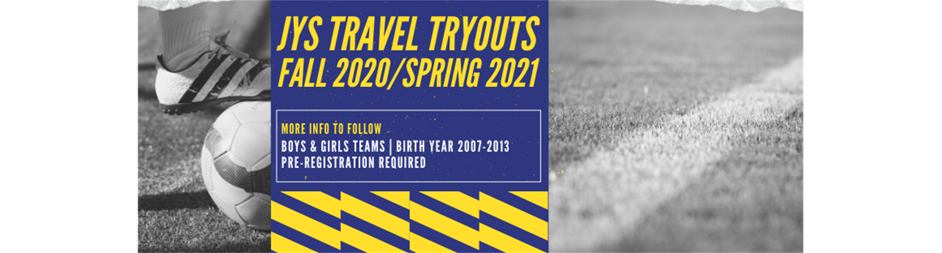Register for Travel Tryouts Now