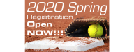 Registration for Spring 2020 is now open