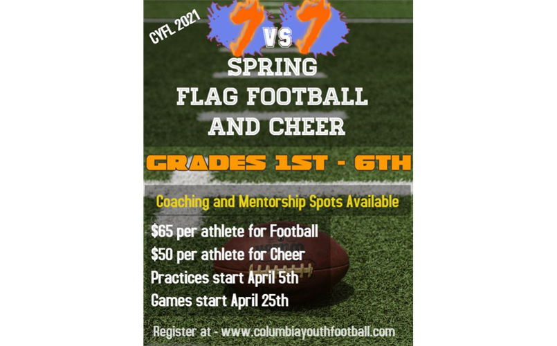 Spring Football and Cheer