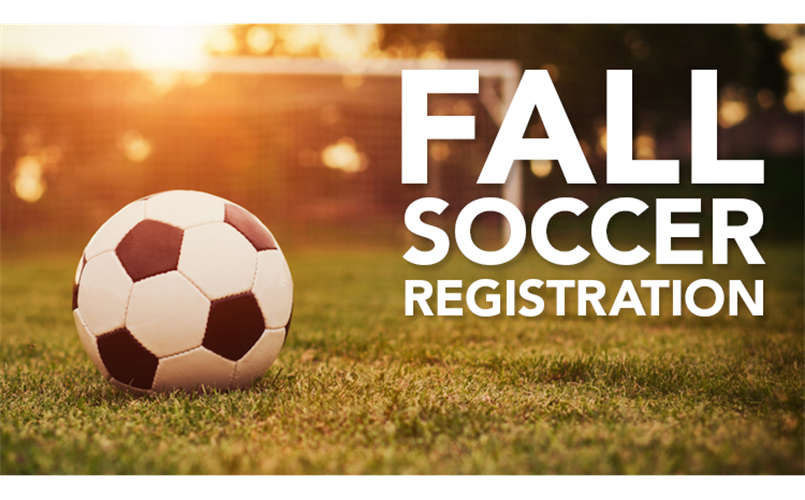 Fall Soccer Registration Now Open!