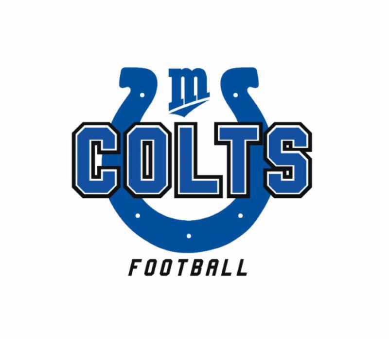 The MARA Colts Football Logo