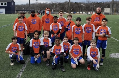 Team picture of 7v7 championship team