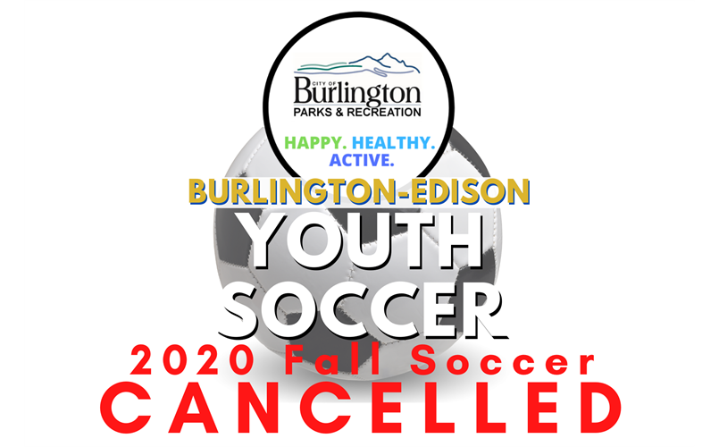 Fall Soccer Cancelled