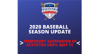 Important League Update: All Activities Suspended Until May 11