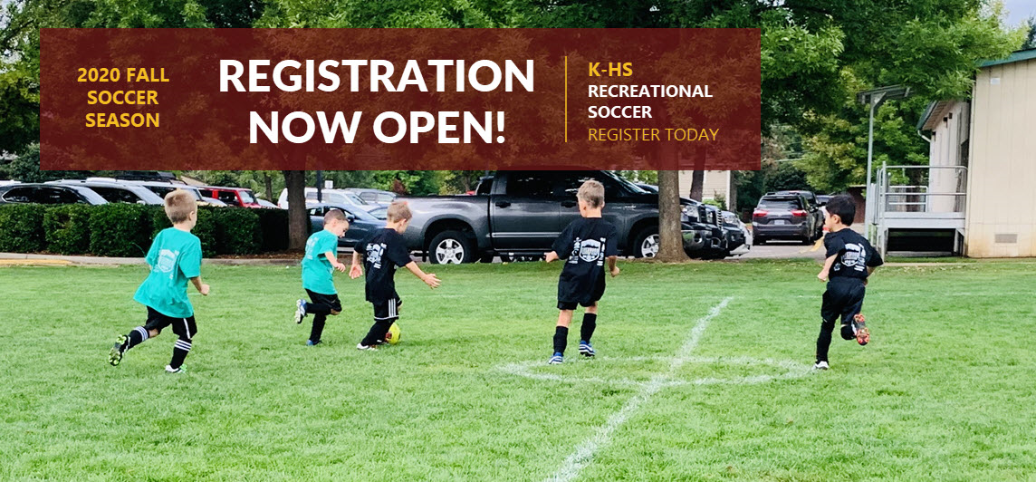Fall 2020 Registration NOW OPEN!