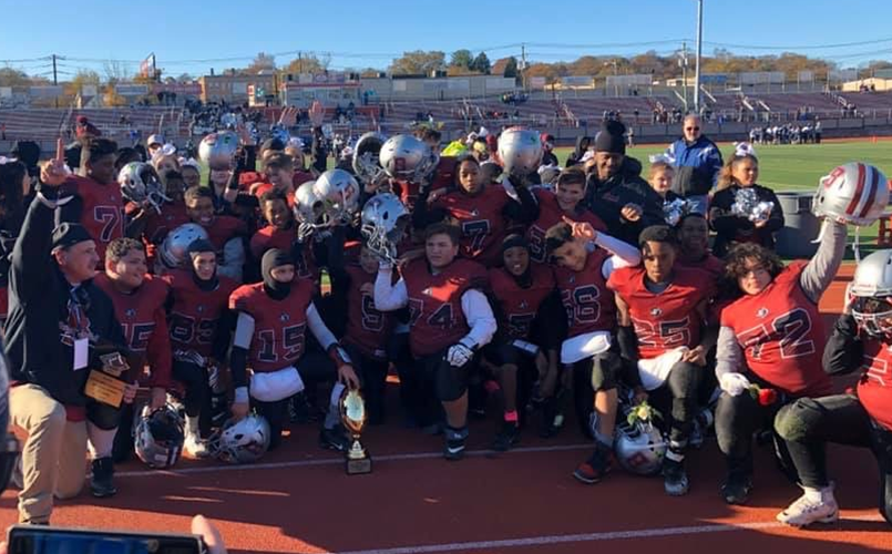 2019 7th Grade Superbowl Champions