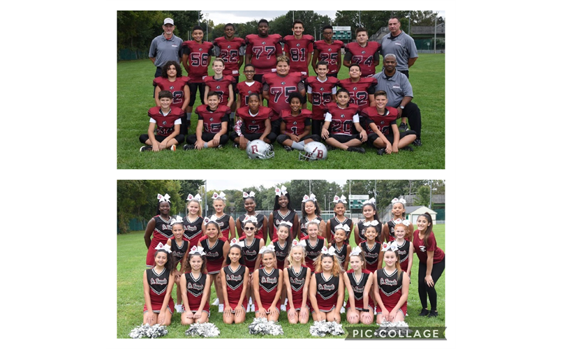 2019 7th Grade Football & Cheer
