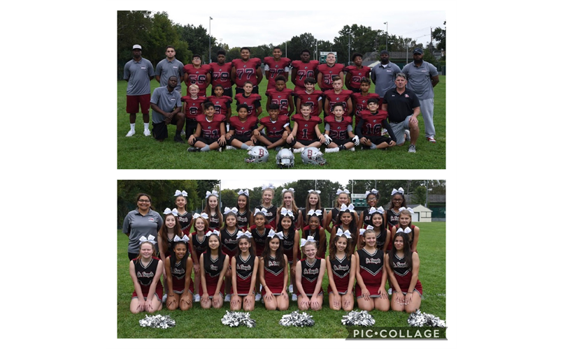 2019 8th Grade Football & Cheer