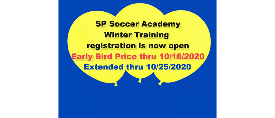 SP Soccer Academy Indoor Training