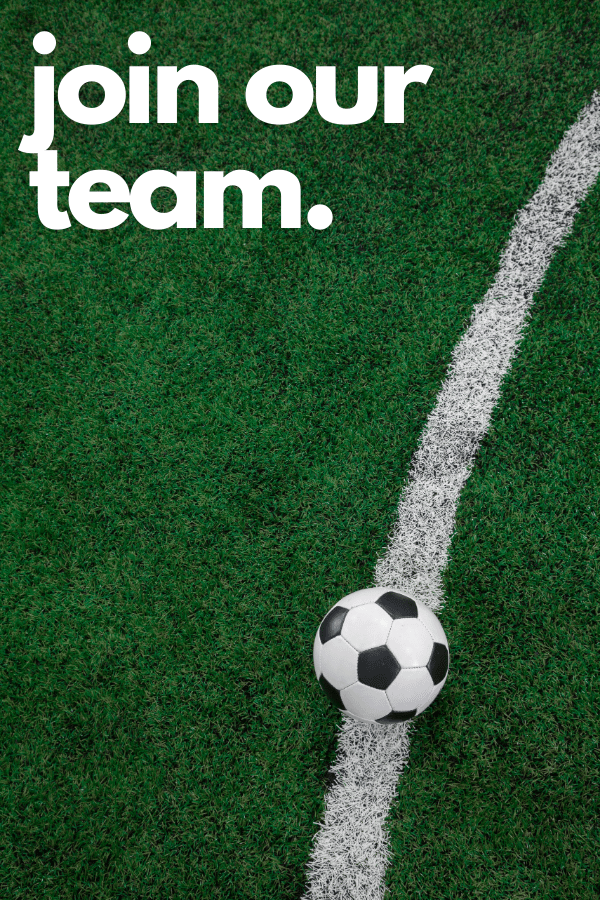Join our team image requesting volunteers for South Tacoma United Youth recreation and select soccer programs