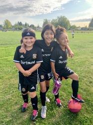 Youth girls soccer program in Pierce County Tacoma Washington