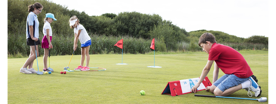 Fun, Games-based Golf Camps for Kids 4-7 Years
