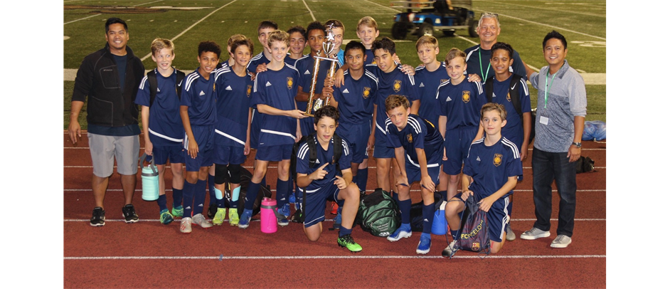 St. James Boys Soccer Champions