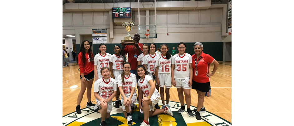 JV Girls 2019-20 Diocese Cup Champions - St John Vianney