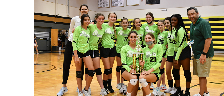 VARISTY VOLLEYBALL CHAMPIONS 2020-21 - ST MARGARET MARY