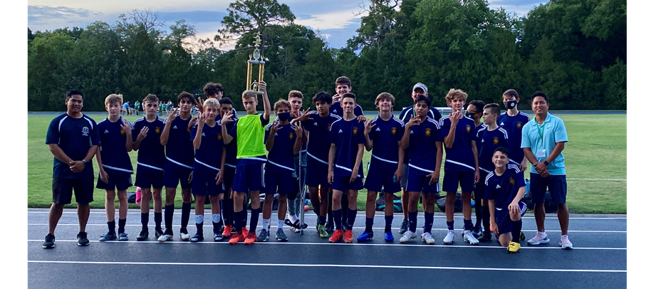 St. James Boys 3 Peat Soccer Champions - 2020-21