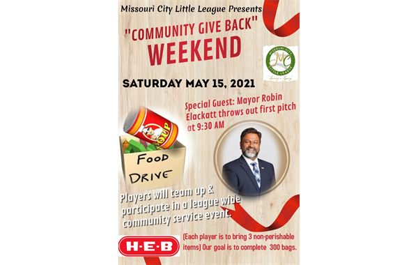 MCLL: Community Give Back Weekend