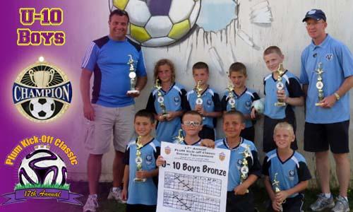 Plum U10 Boys Bronze Division Champs