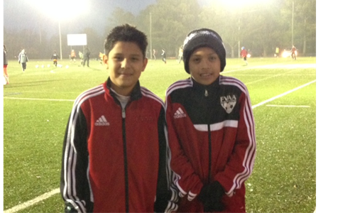 2 FVAA Players Attend US Soccer Training Center!!