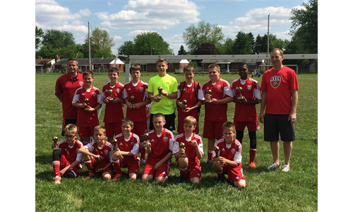 FC Tippecanoe City U12 Strawberry Tournament Finalists
