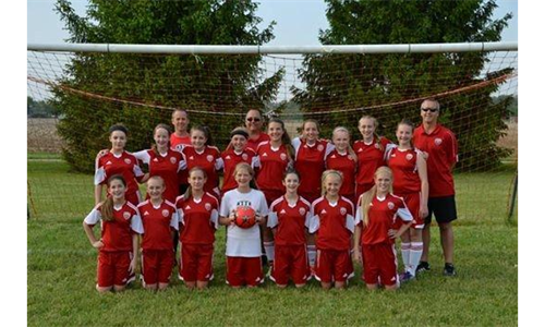 U13 Girls Division Champs for Spring 2014