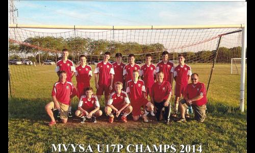 U17 Boys Spring MVYSA Premier Champs