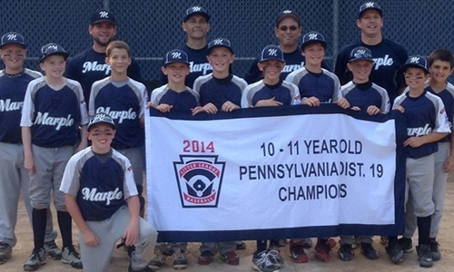 11 Year Old District 19 Champions!