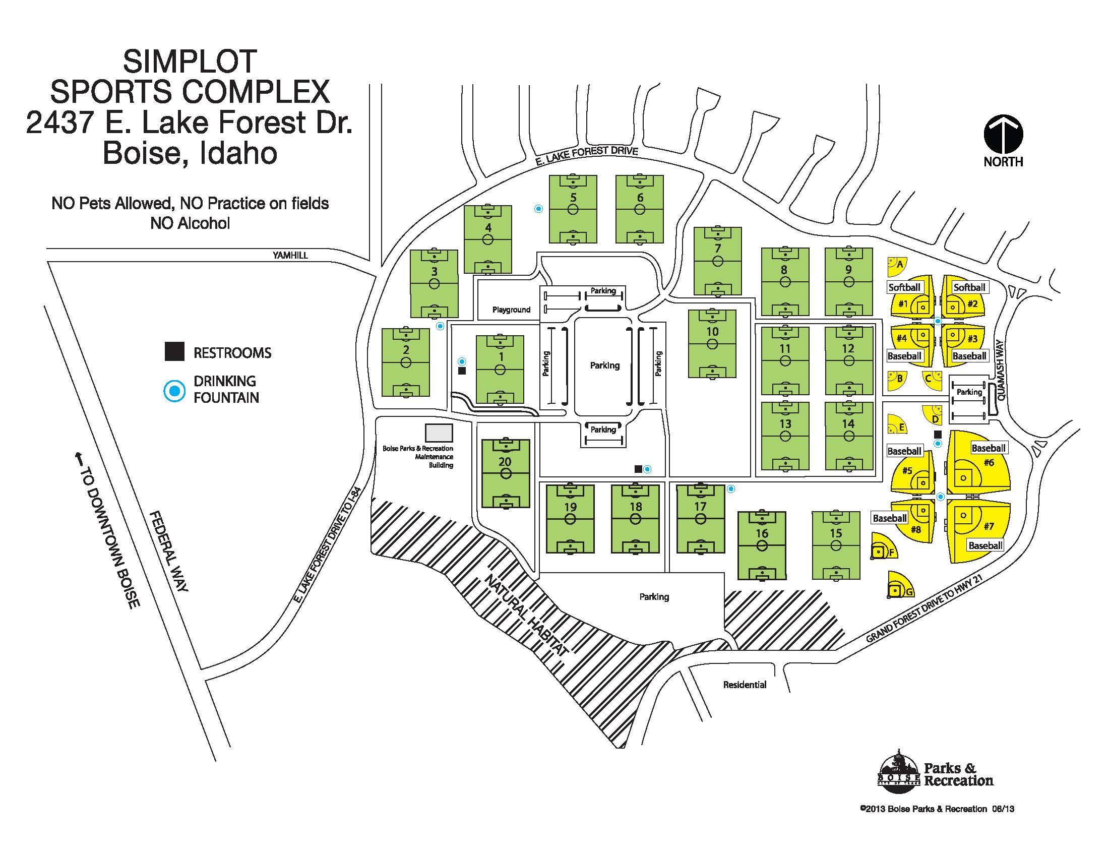 Bielenberg Soccer Field Map Image Mag