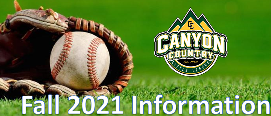 Fall 2021 Information