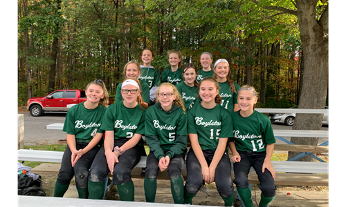 2019 12U Fall Softball