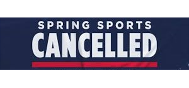 Spring Rec Season Cancelled!