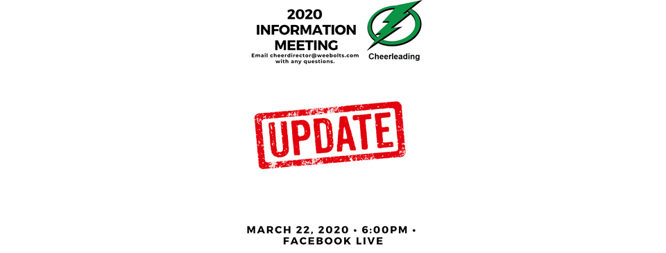 Cheer Information Meeting