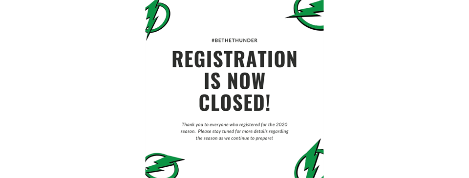 2020 Registration Is Now Closed
