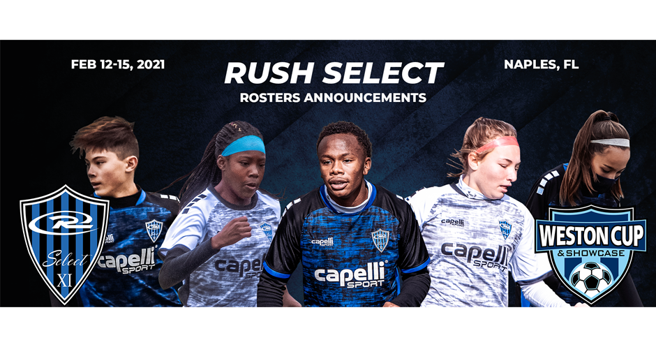 Rush Select Roster Announcements