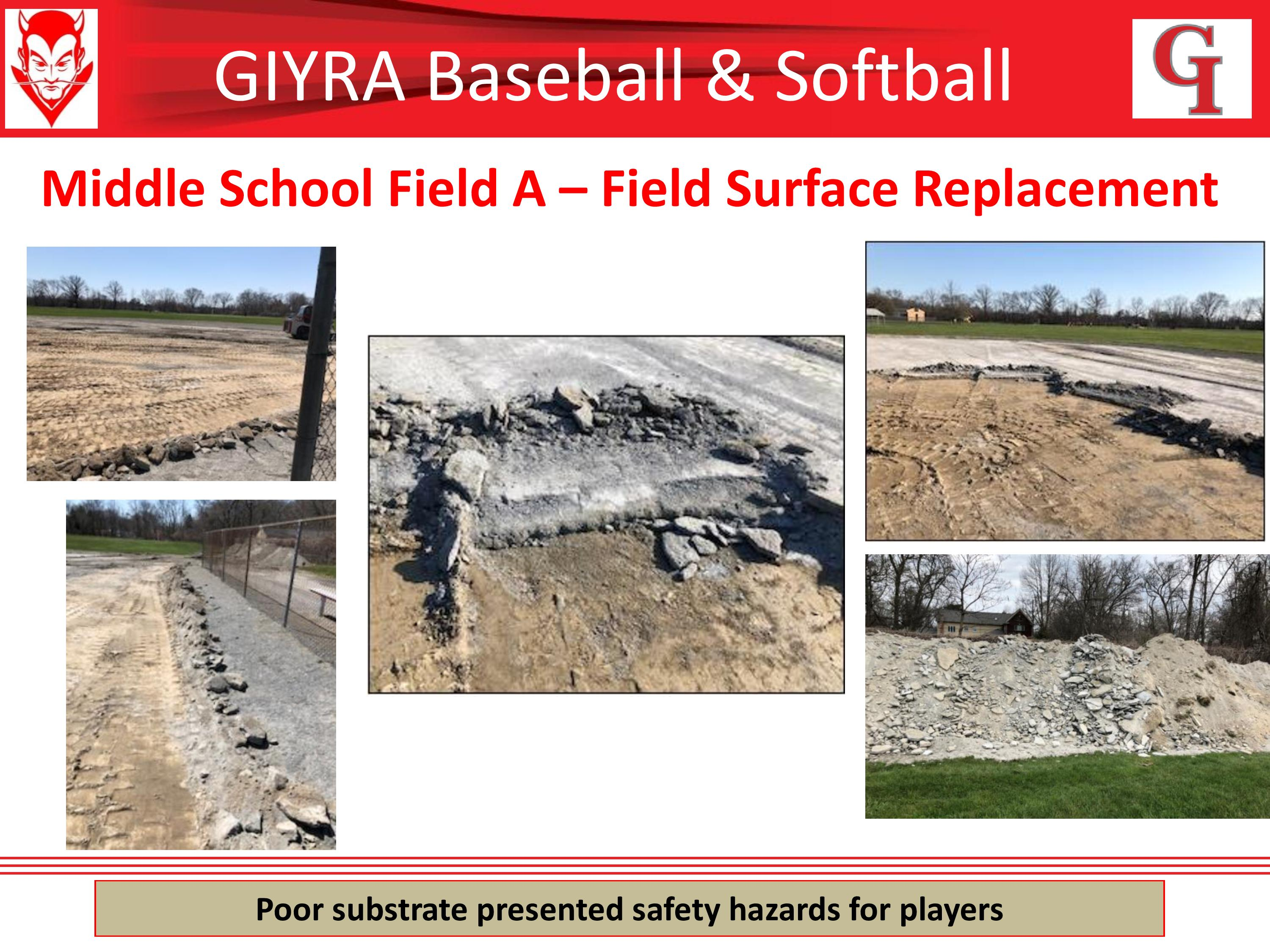 Middle School Field A Before