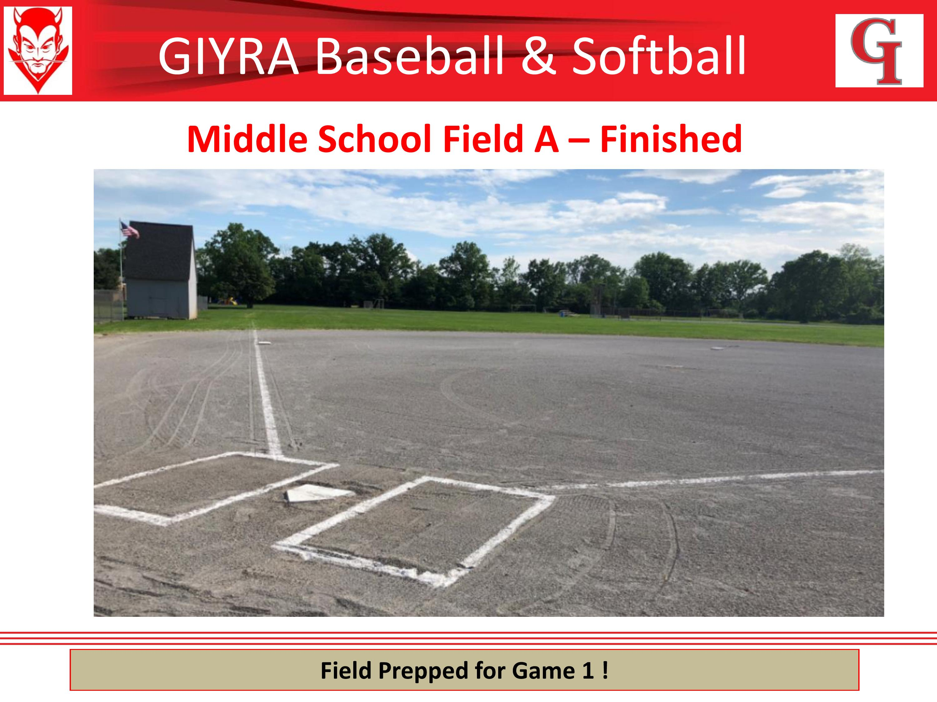 Middle School Field A After