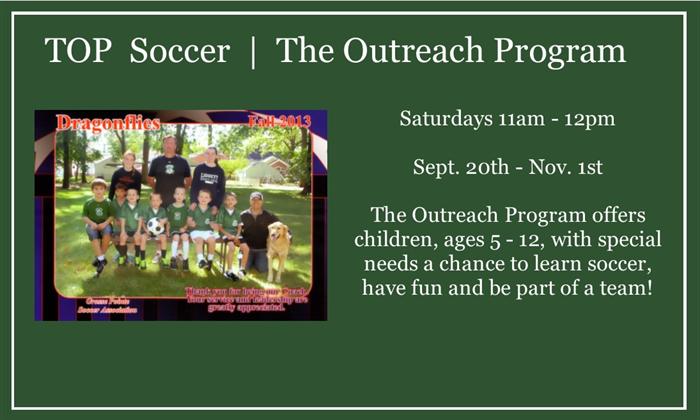 TOP Soccer  | The Outreach Program