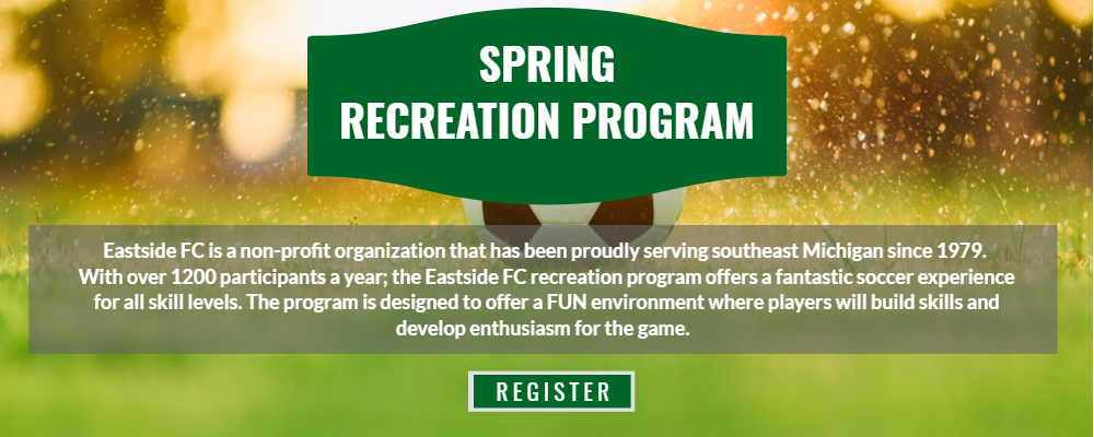 Spring Rec Soccer