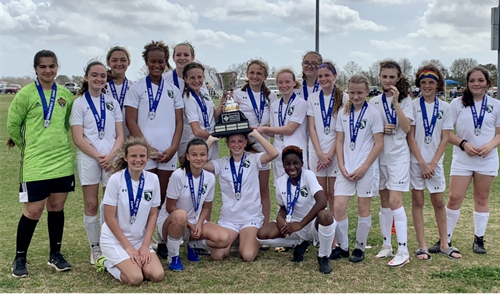 2008 Girls Eastern Shore Premier Cup Champions