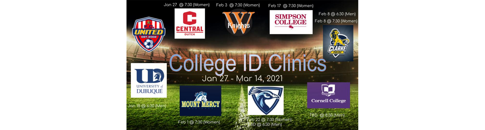 College ID 2021 Winter Clinics