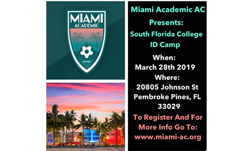 South Florida College ID Camp