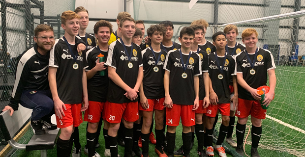 U16 Boys are Champions at Cleveland Classic Tourney!