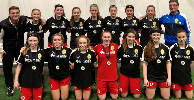 U15 Girls are Cleve Indoor Classic Champions!